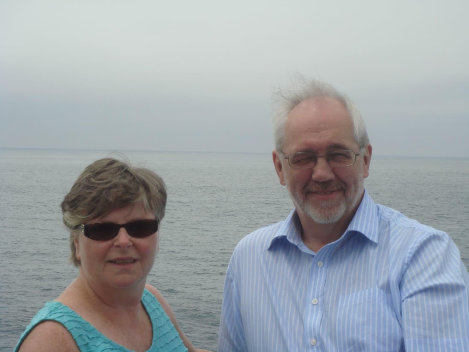 David & Yvonne from Glasgow, United Kingdom