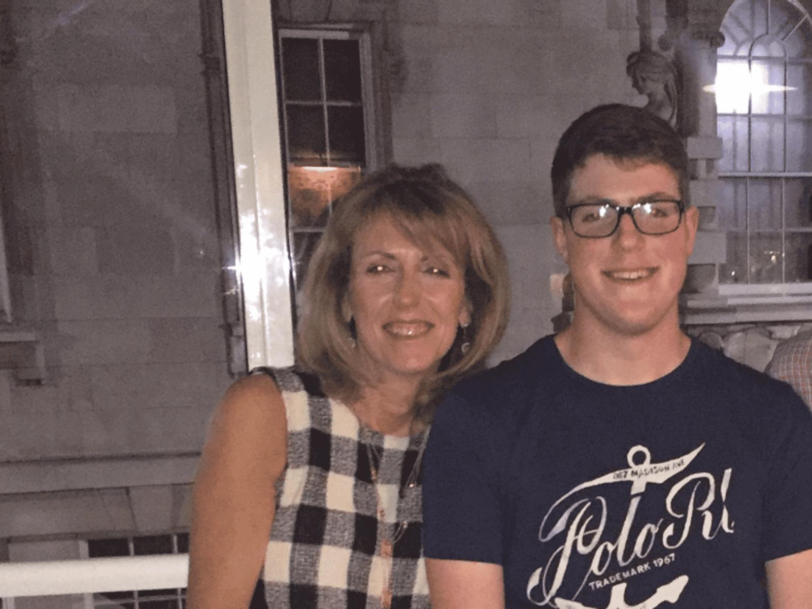 Lynn & Josh from Leicester, United Kingdom