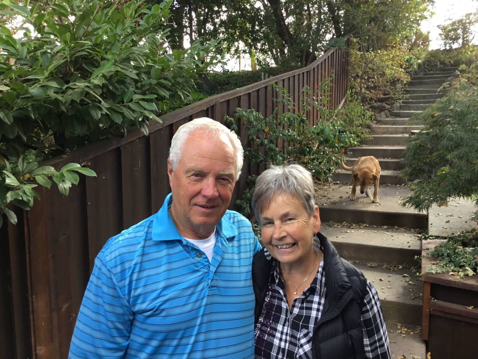 Gale & Larry from San Francisco, California, United States