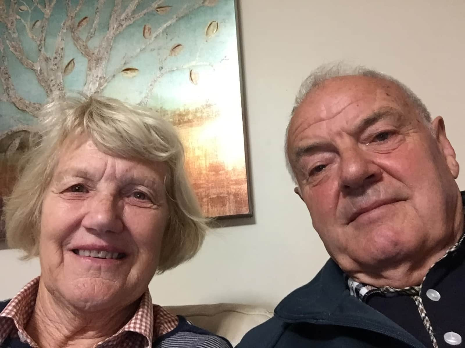Graeme & Sue from Wellington, New Zealand