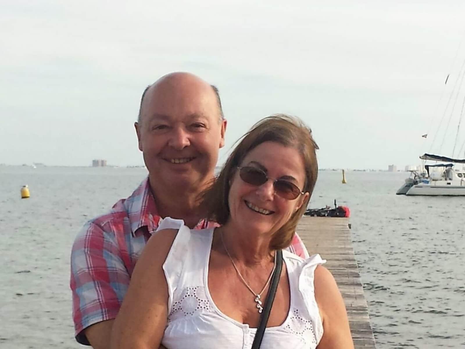 David & Lynn from Rayleigh, United Kingdom