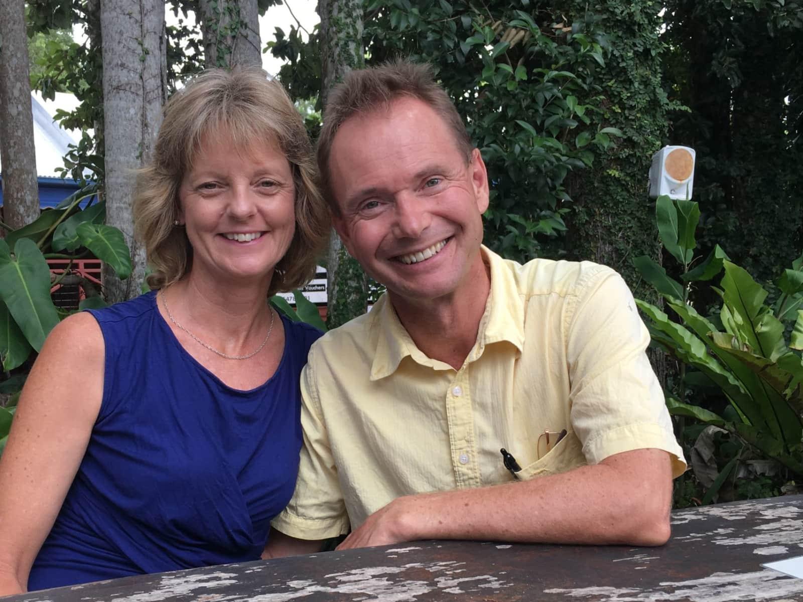 Teena & Graham from Christchurch, New Zealand