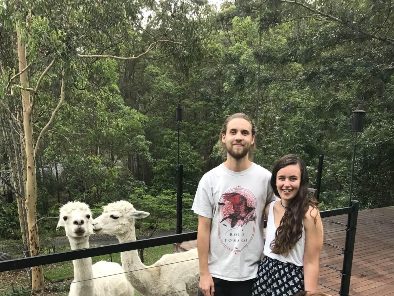 Hailey & Thomas from Geelong, Victoria, Australia
