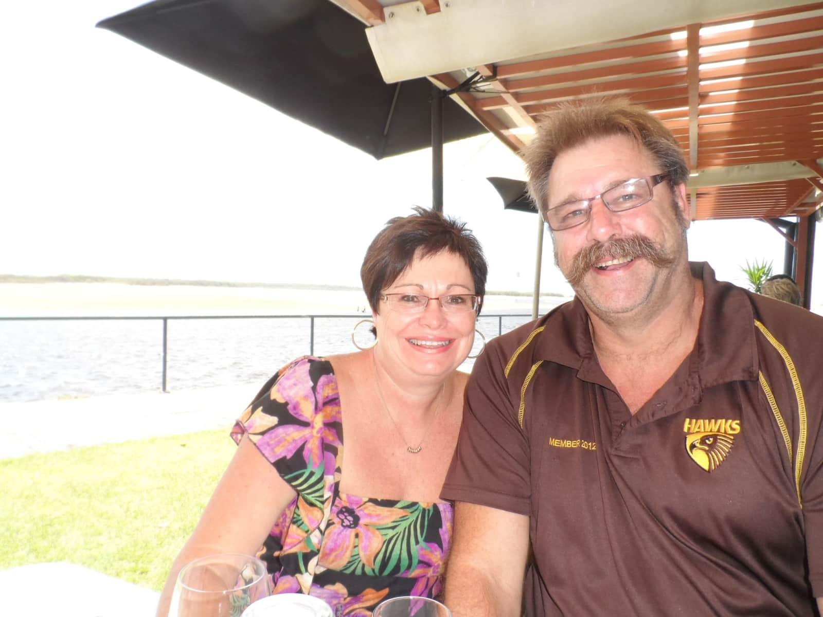Steve & Jeannie from Brisbane, Queensland, Australia