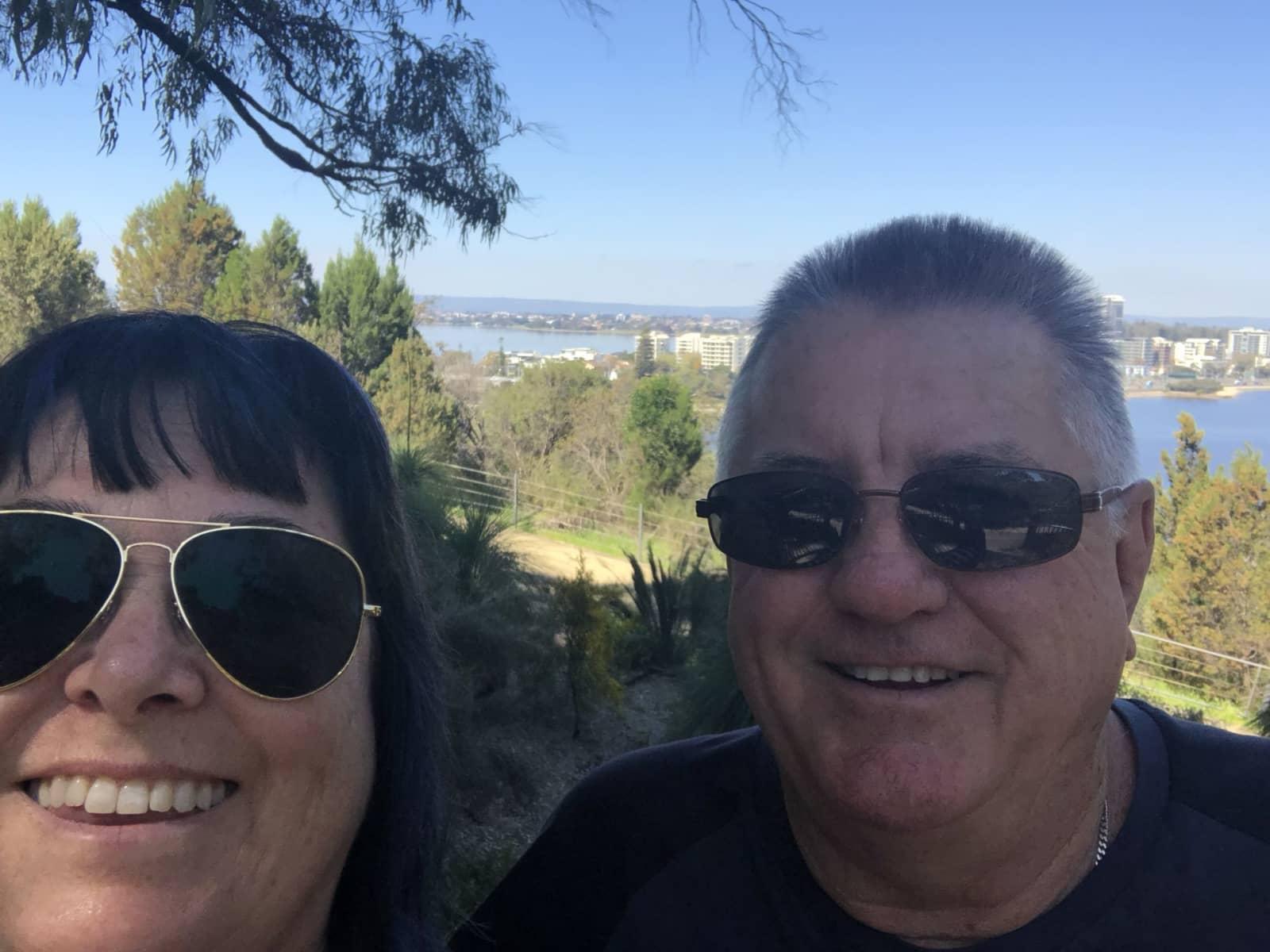 Natalie & Gary from Australind, Western Australia, Australia