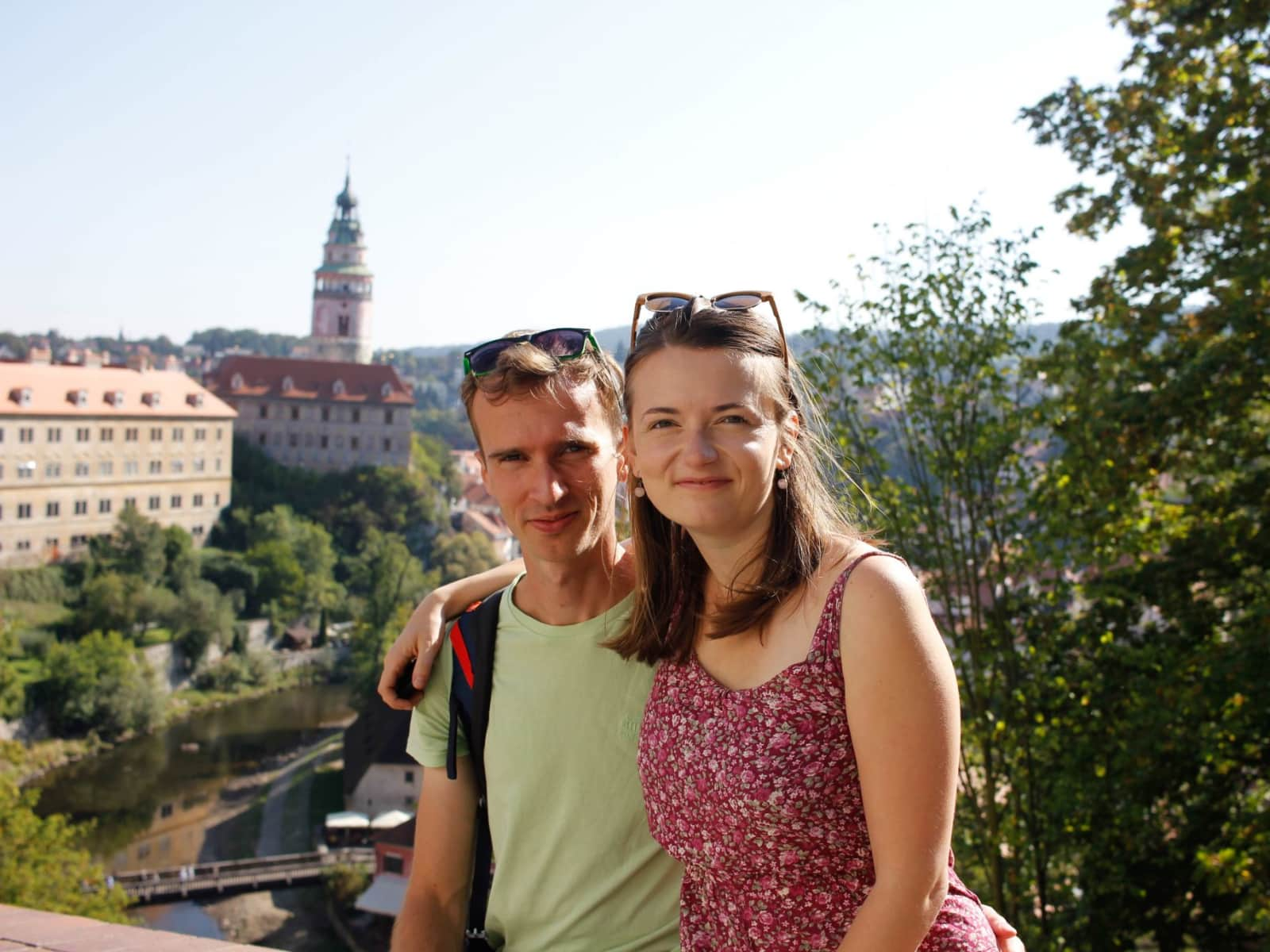 Linda & Jirka from Prague, Czech Republic