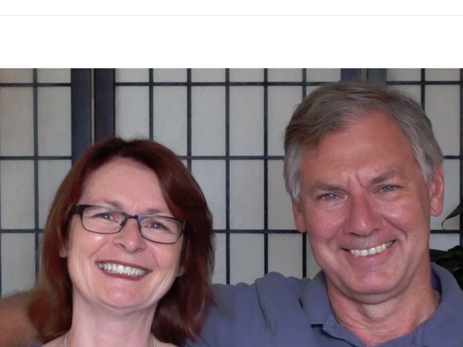 Ellen & Bernie from Toronto, Ontario, Canada