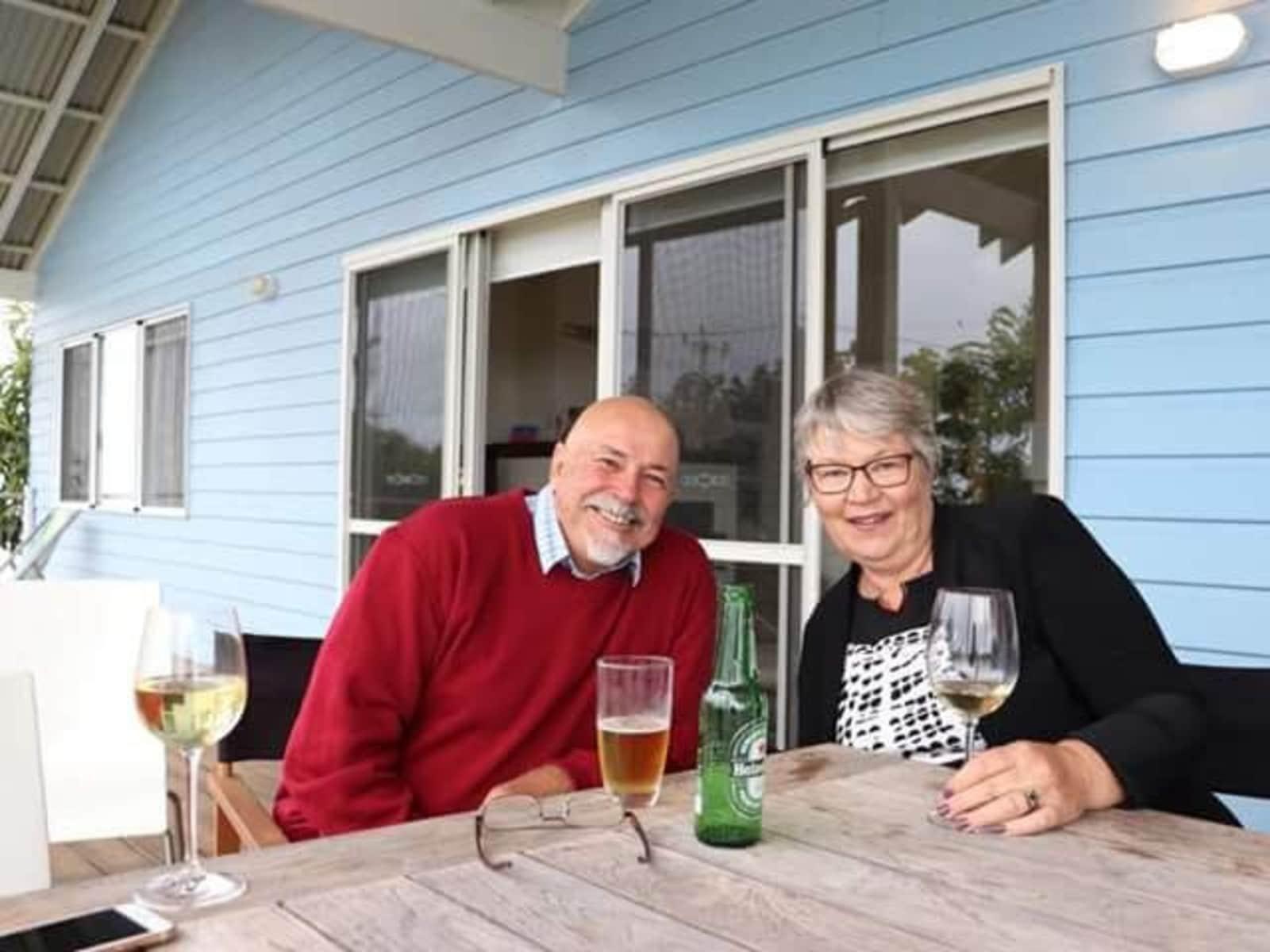 Jennifer & Peter from Albany, Western Australia, Australia