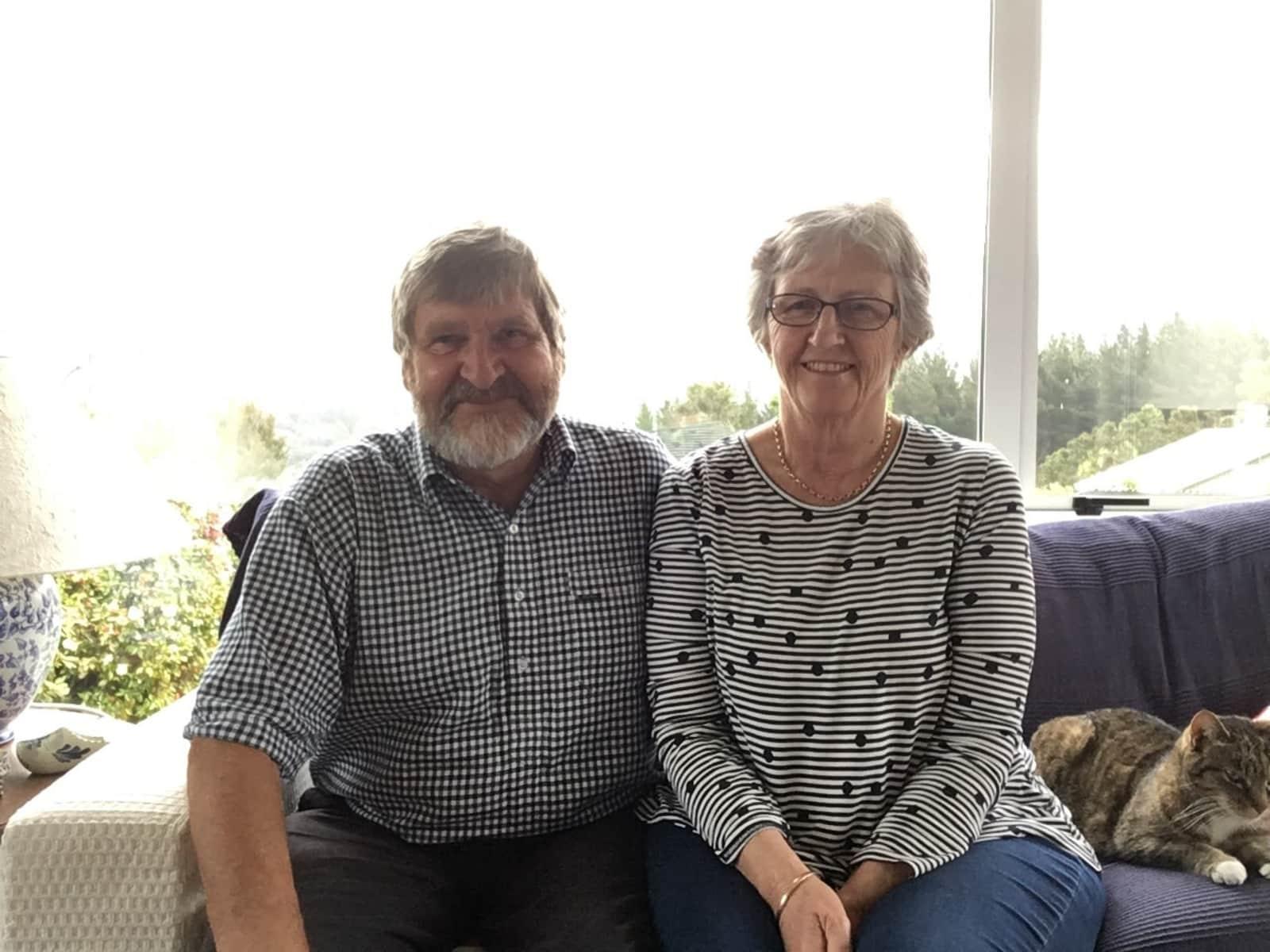 Rosie & David from Akaroa, New Zealand