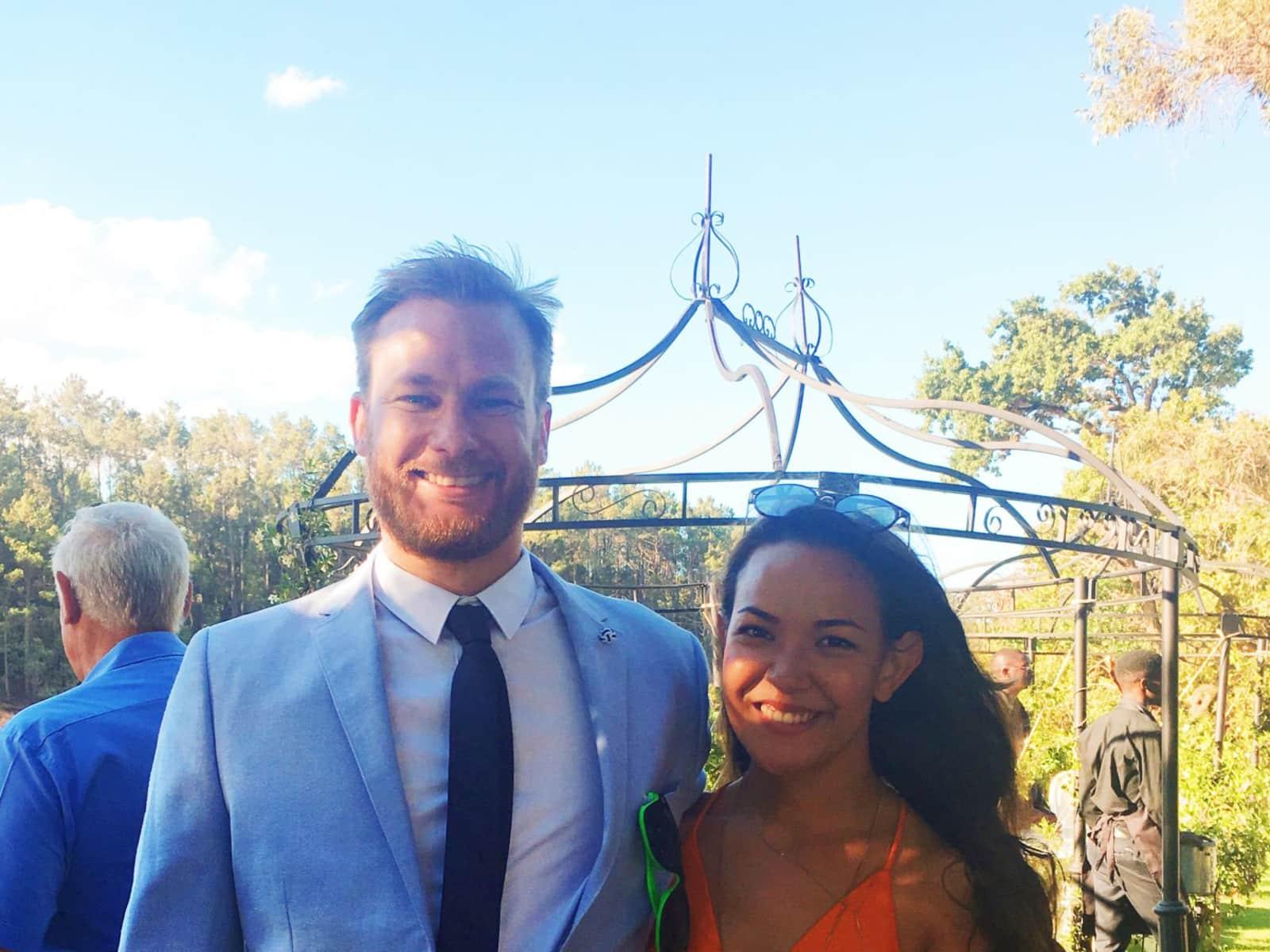 Samantha & Nicholas from Perth, Western Australia, Australia