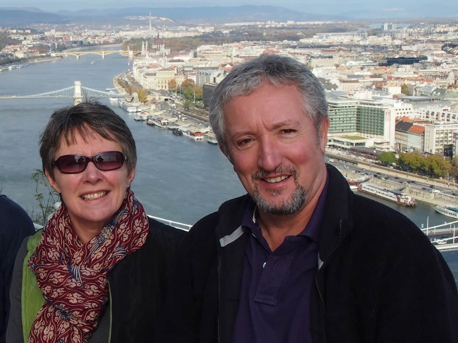 John & Wendy from Chichester, United Kingdom