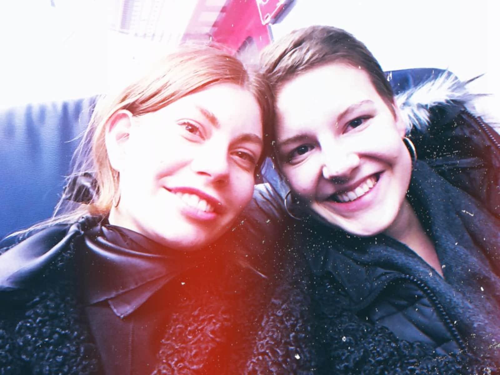 Jana & Jule from Copenhagen, Denmark