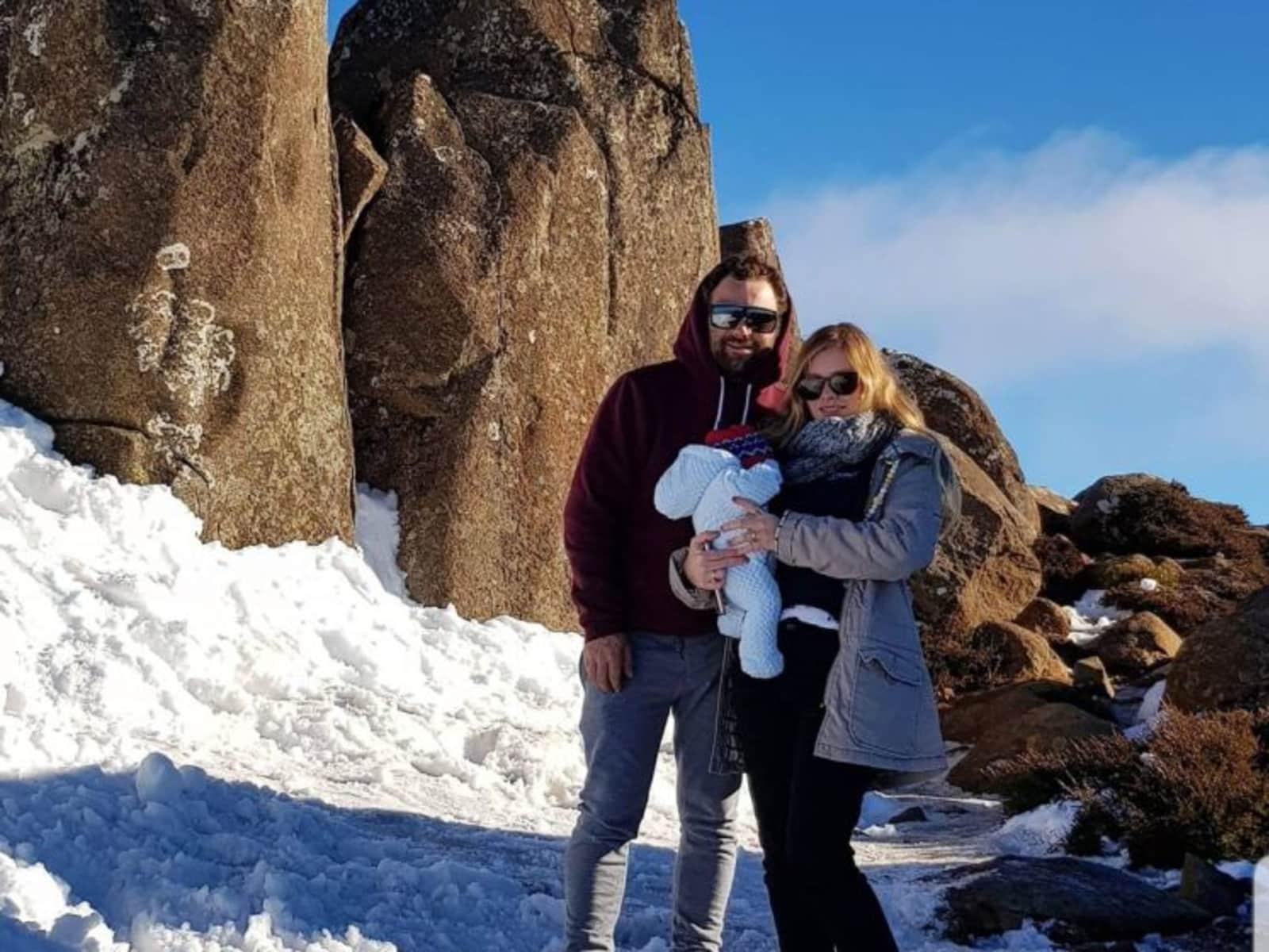 Brooke & Sam from Sandford, Tasmania, Australia