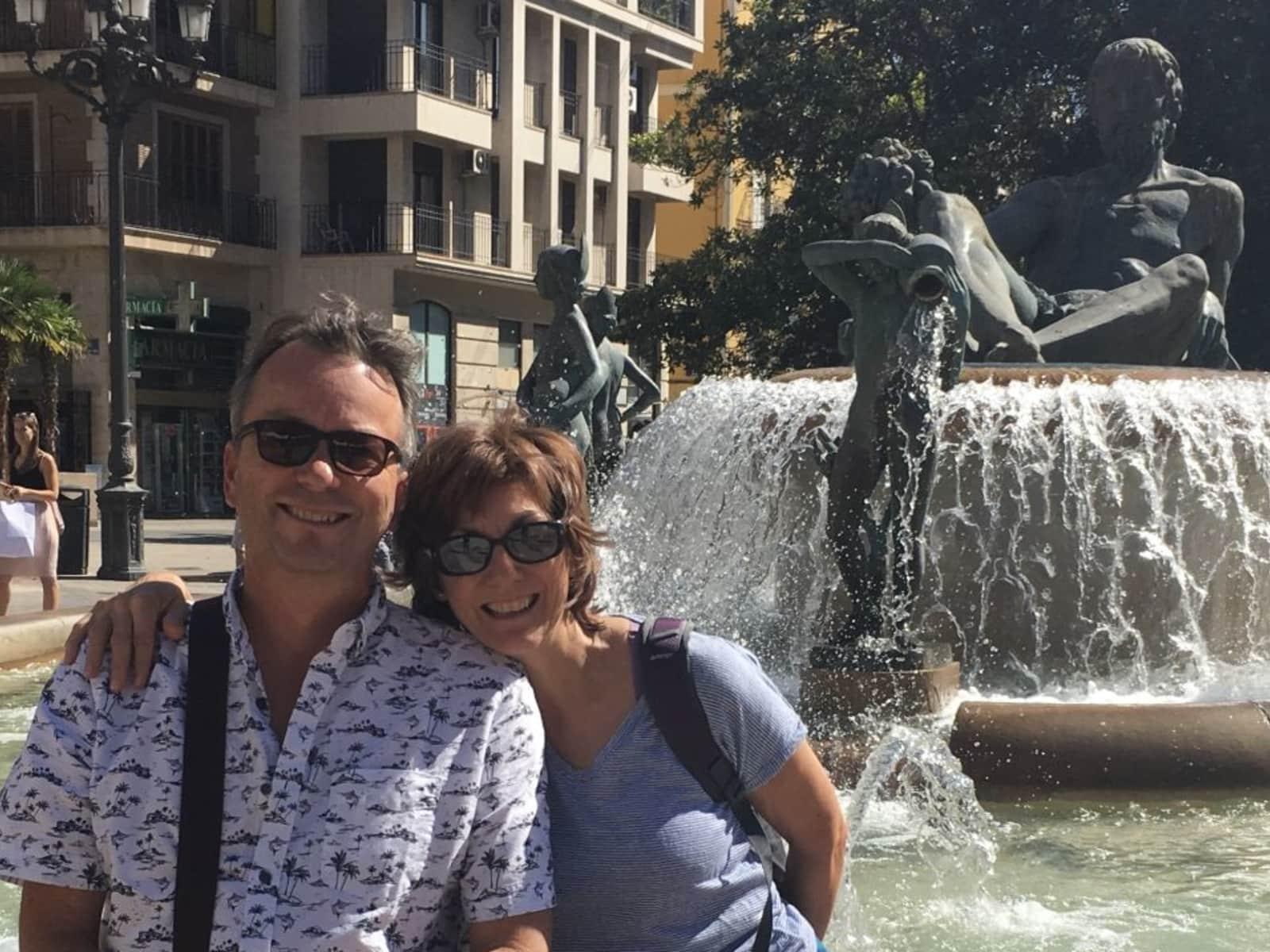 Simon & Angie from Nottingham, United Kingdom