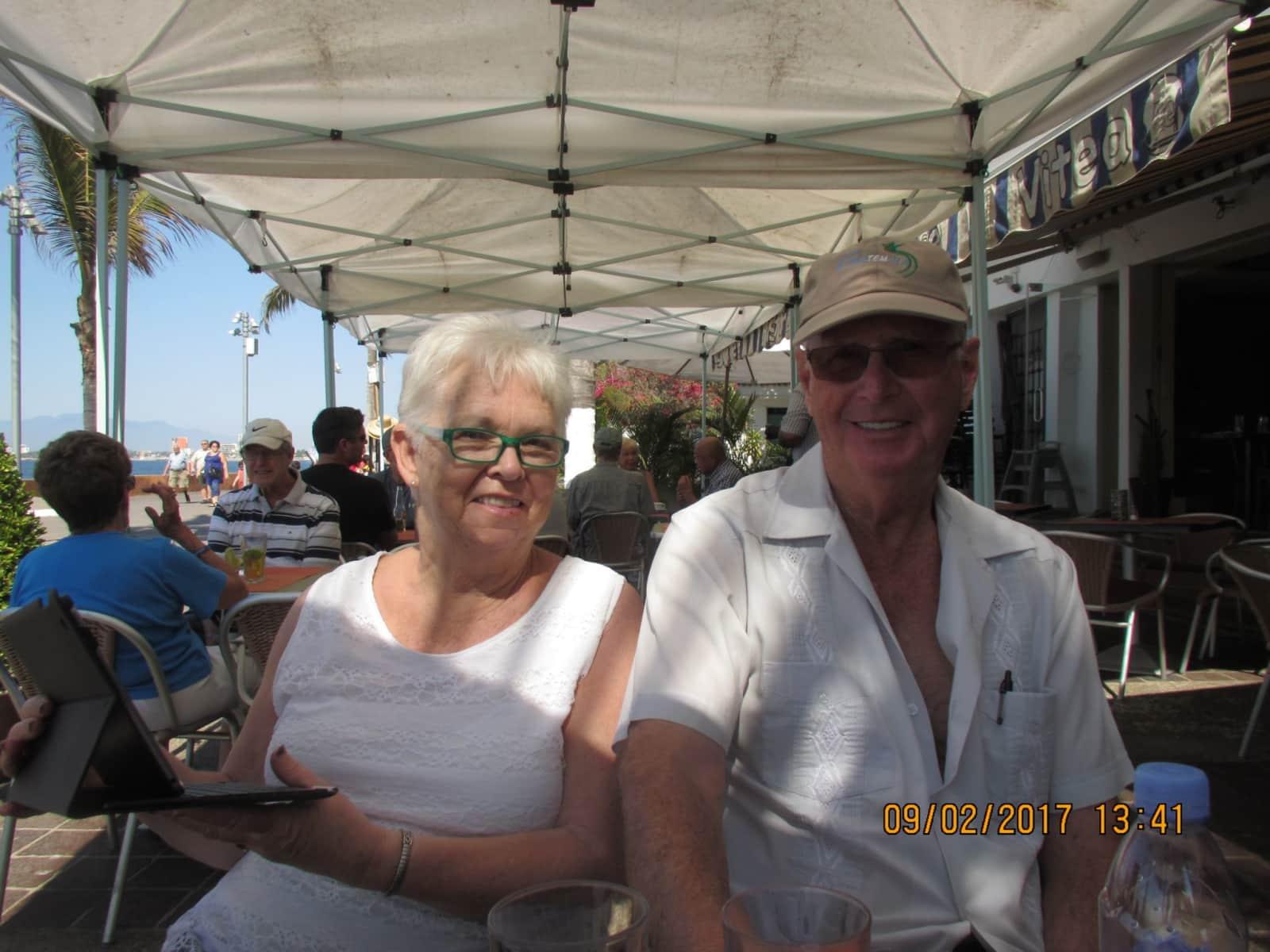 Beverley & Terry from Calgary, Alberta, Canada