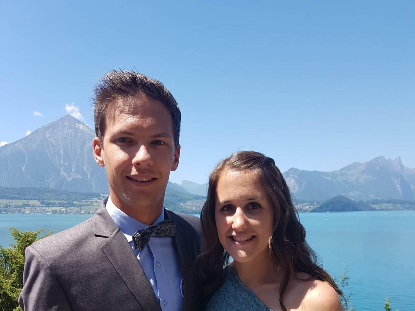 Norina & Fabian from Zürich, Switzerland