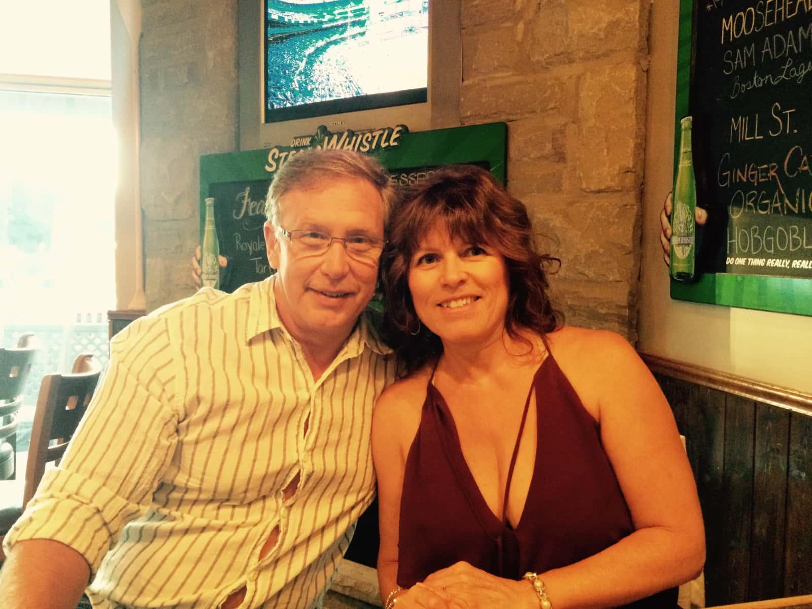 Barbara & Stephen from Ottawa, Ontario, Canada