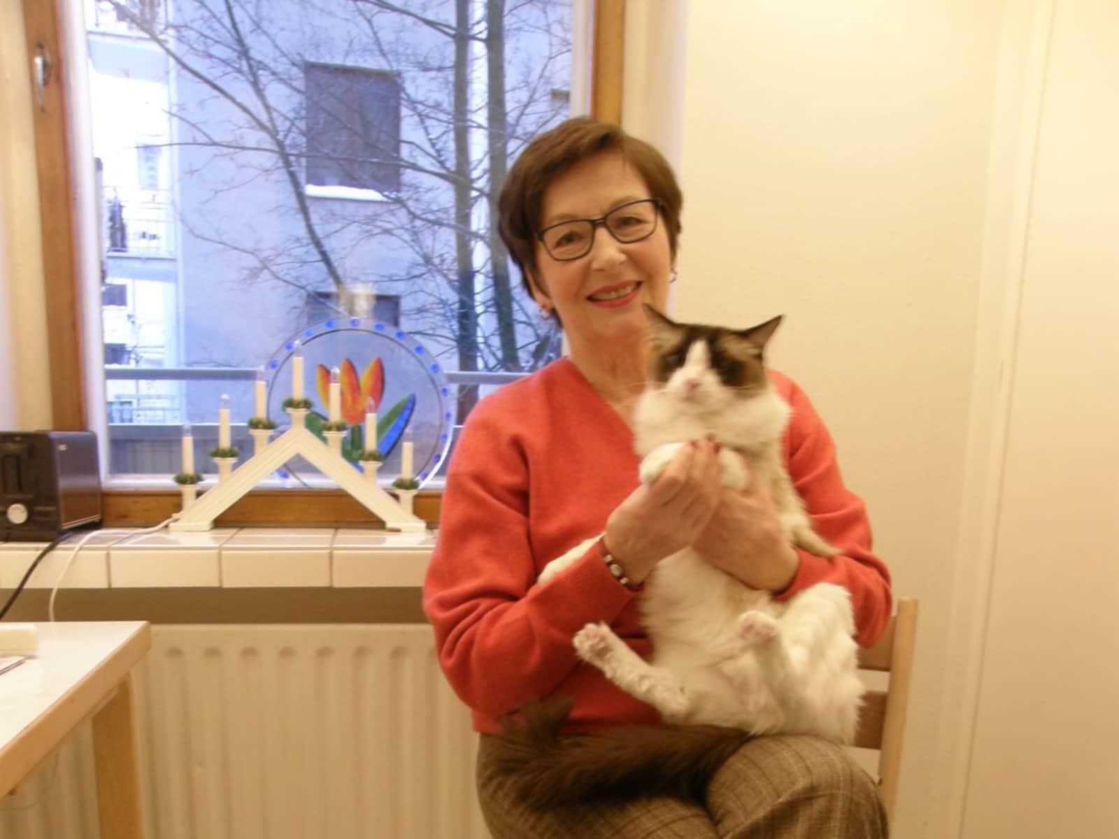 Marjatta from Helsinki, Finland