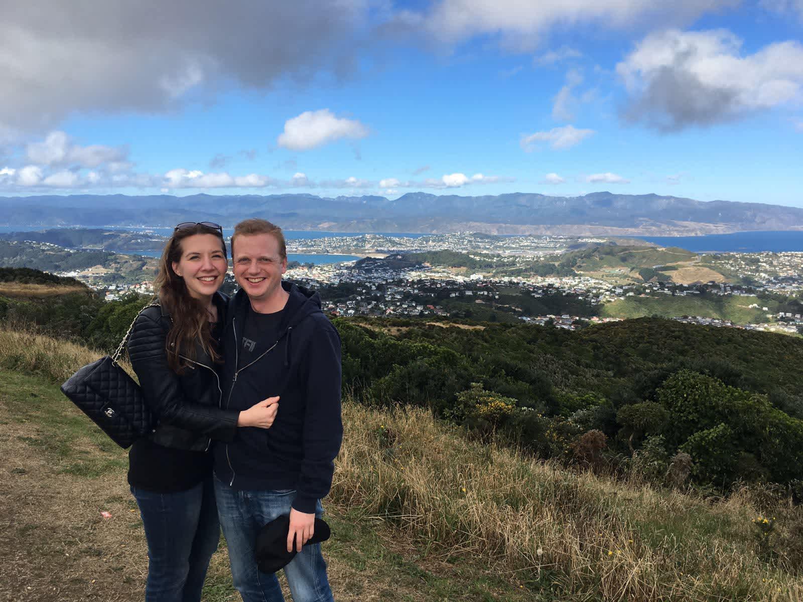 Victoria & Ben from Wellington, New Zealand