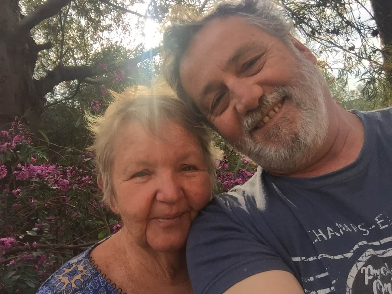 Sue & Bernie from Canberra, Australian Capital Territory, Australia