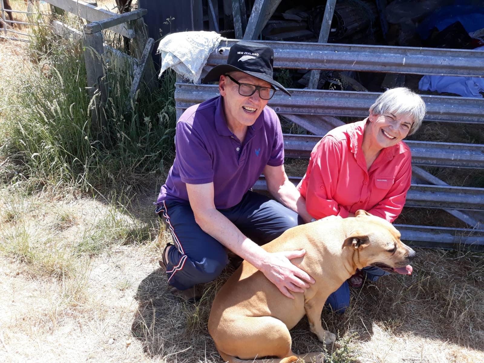 Ian & Susan from Waikanae, New Zealand