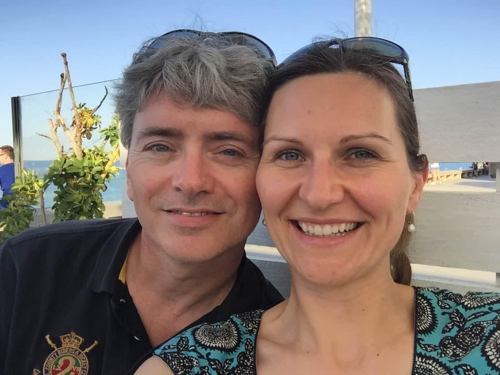 Ina & Alastair from Barcelona, Spain