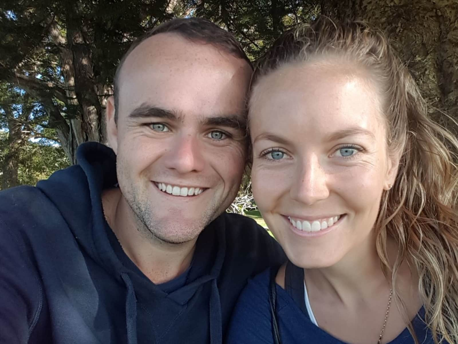 Timothy & Katie from Hobart, Tasmania, Australia