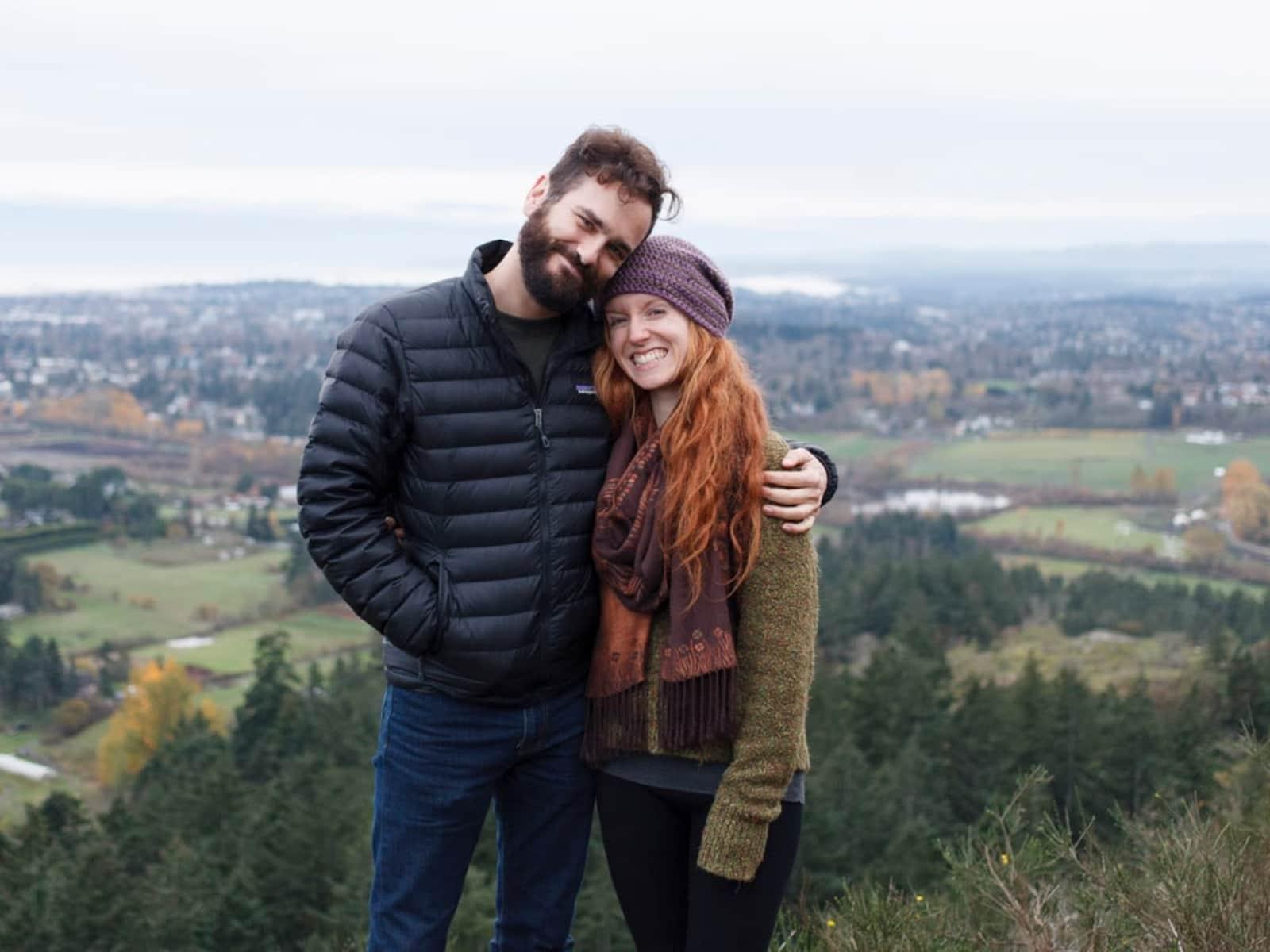 Rachelle & Geoff from Victoria, British Columbia, Canada