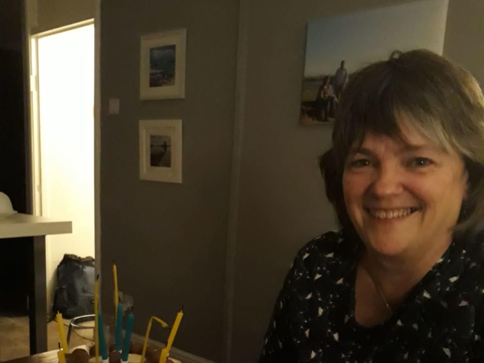 Sally from Lichfield, United Kingdom