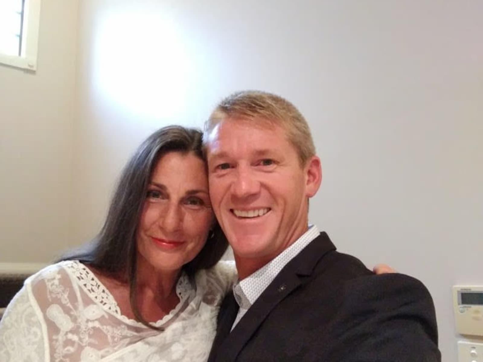 Roz & Chris from Gold Coast, Queensland, Australia