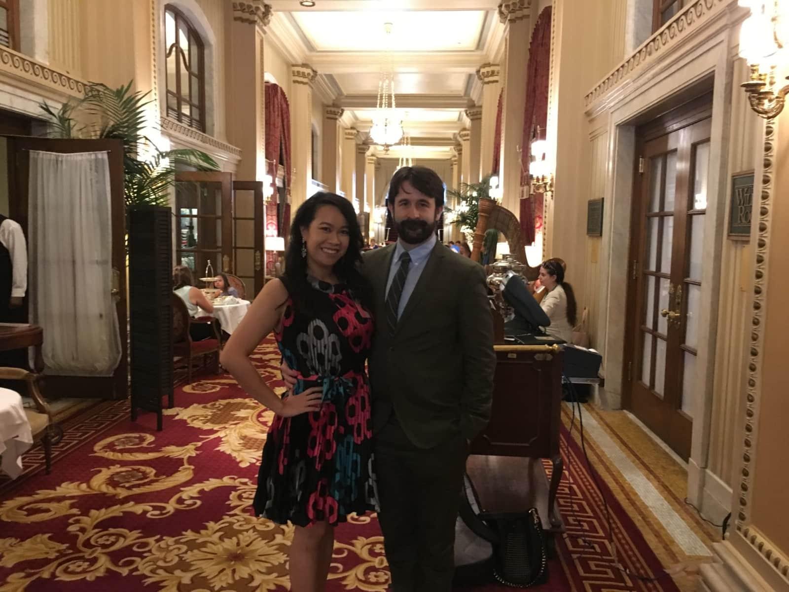 Christina & Jonathan from Washington, D.C., Washington, D.C., United States