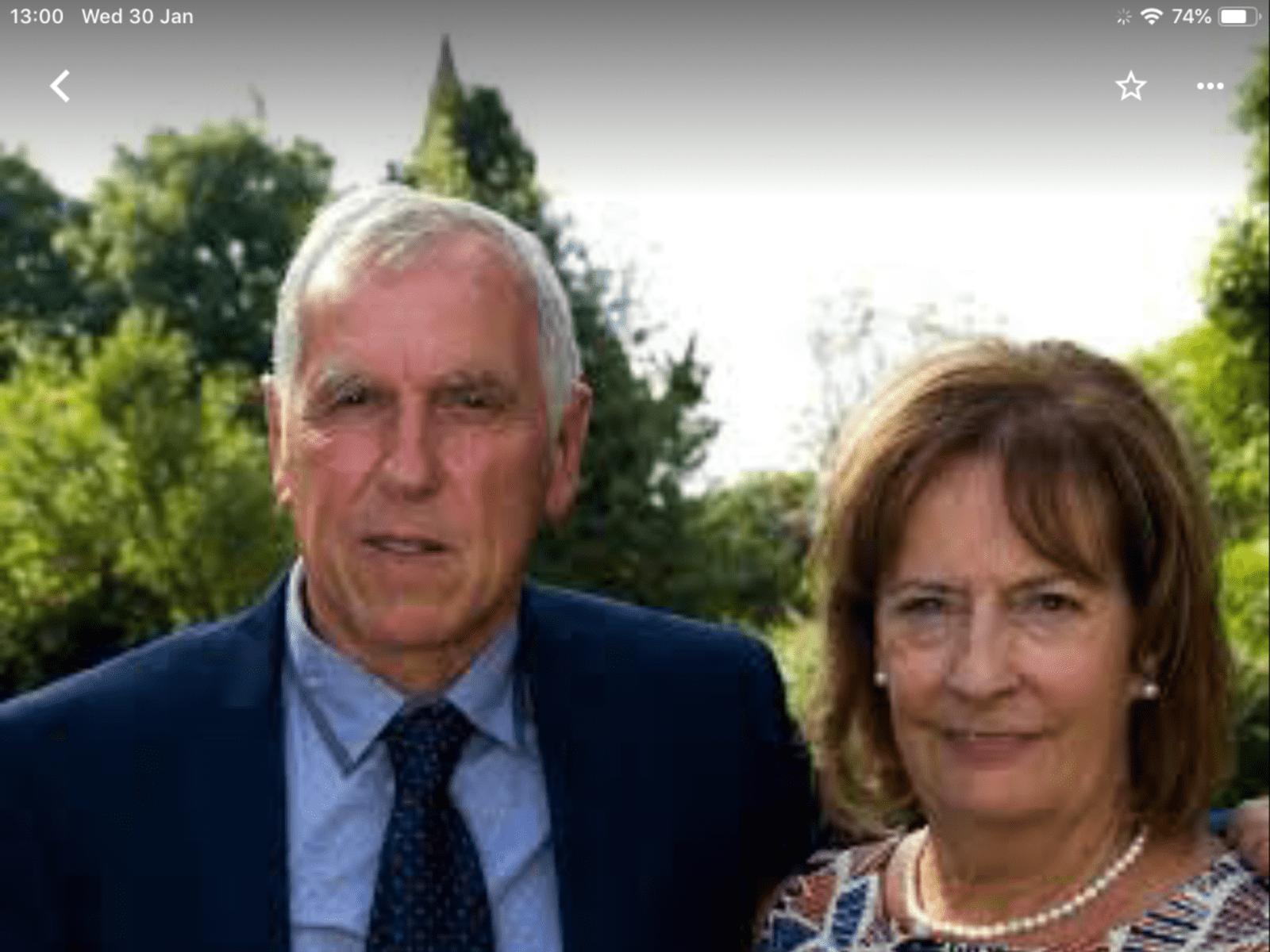 Barry & Mary from Melton Mowbray, United Kingdom