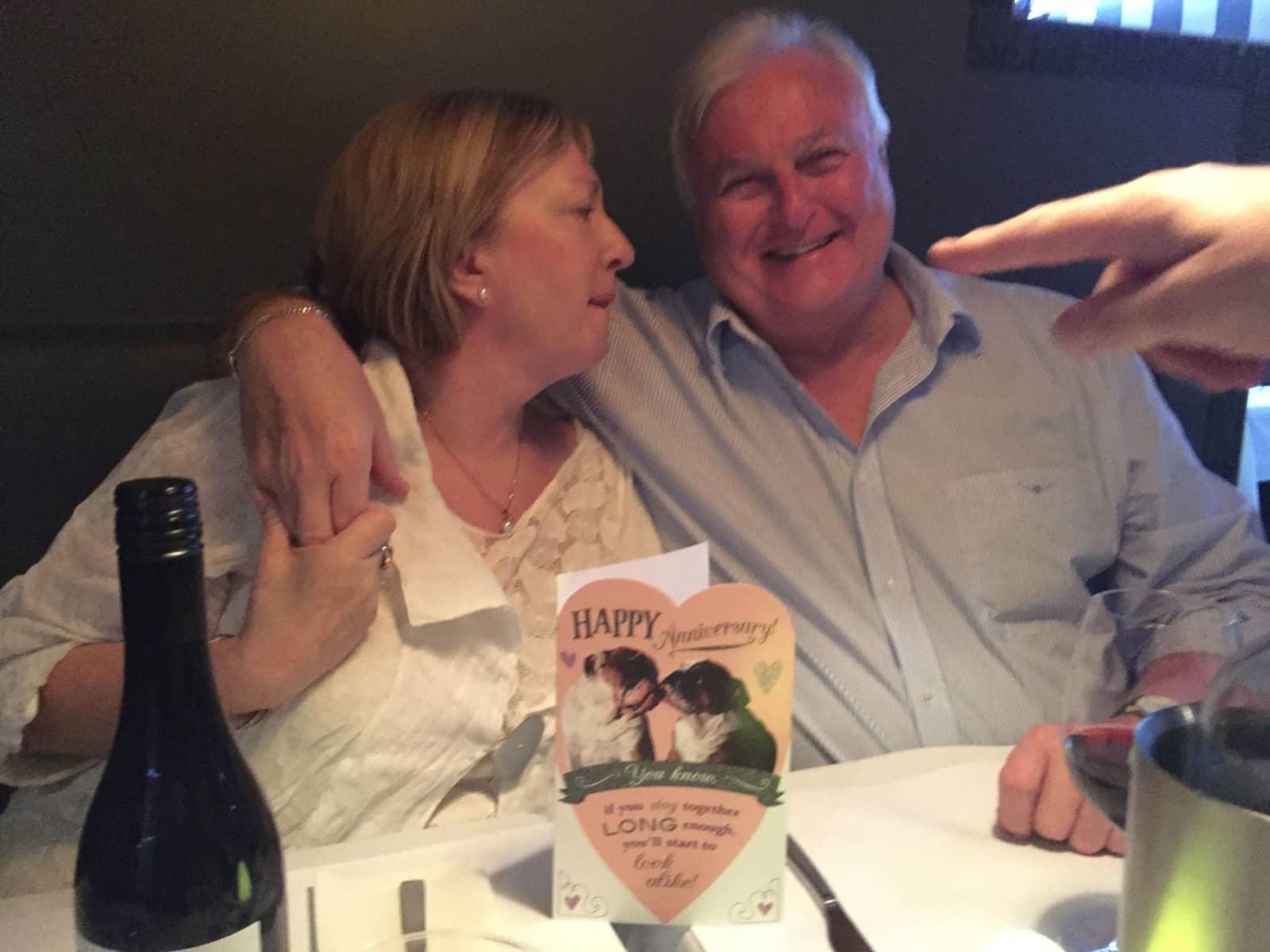 Vicki & Bruce from Brisbane, Queensland, Australia