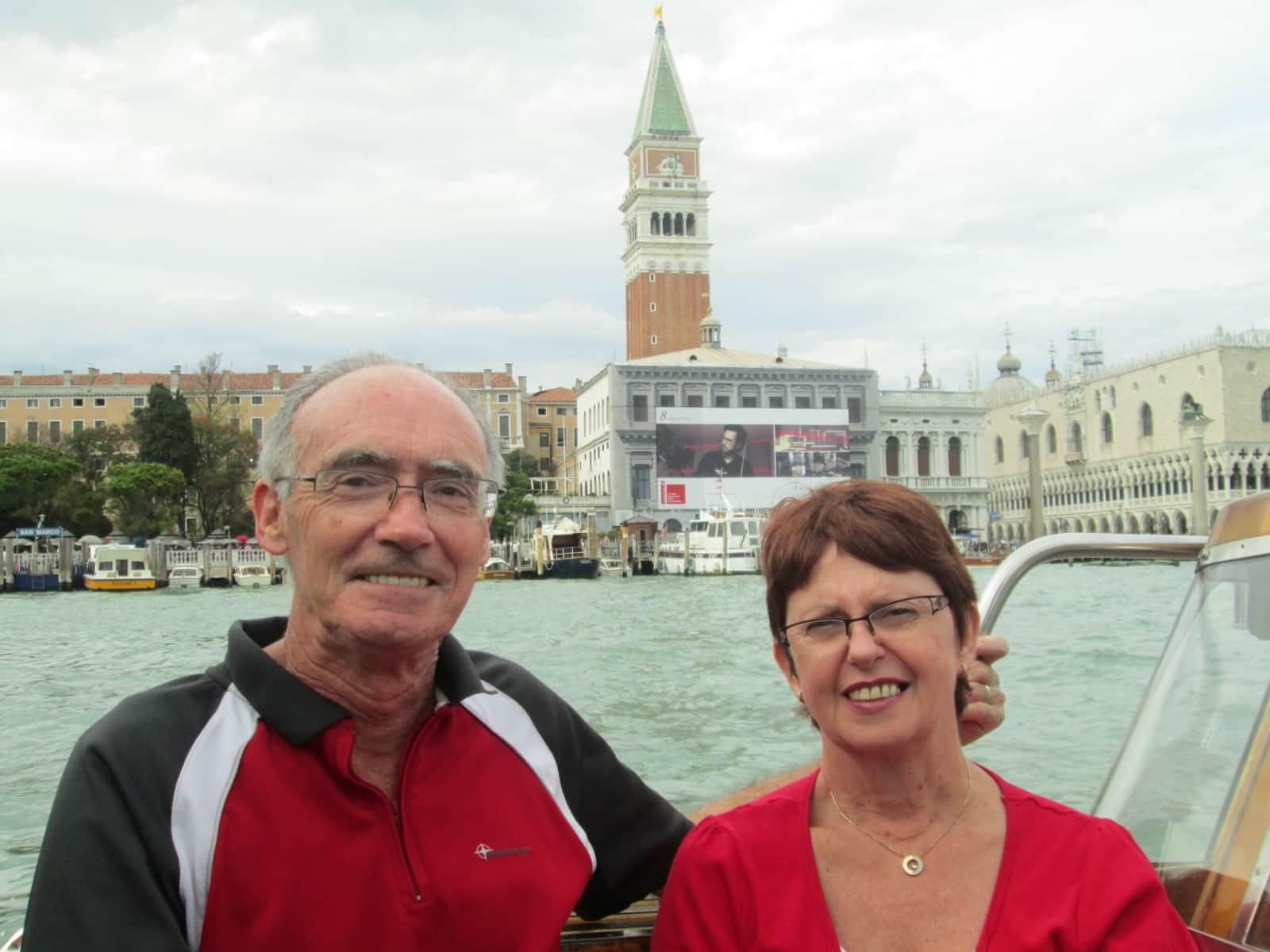 Janet & Dayrell from Tauranga, New Zealand