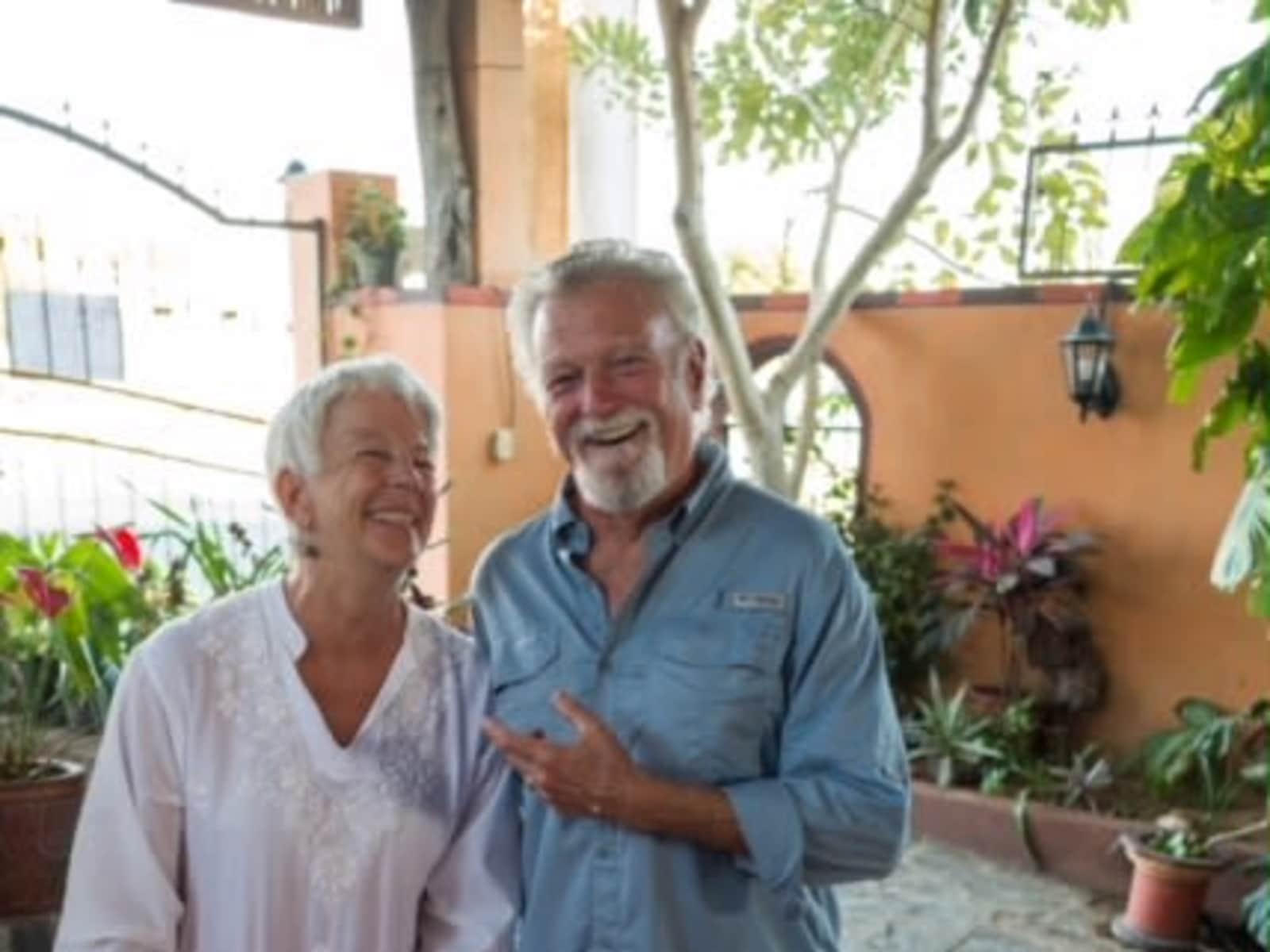 Carin & John from La Paz, Mexico
