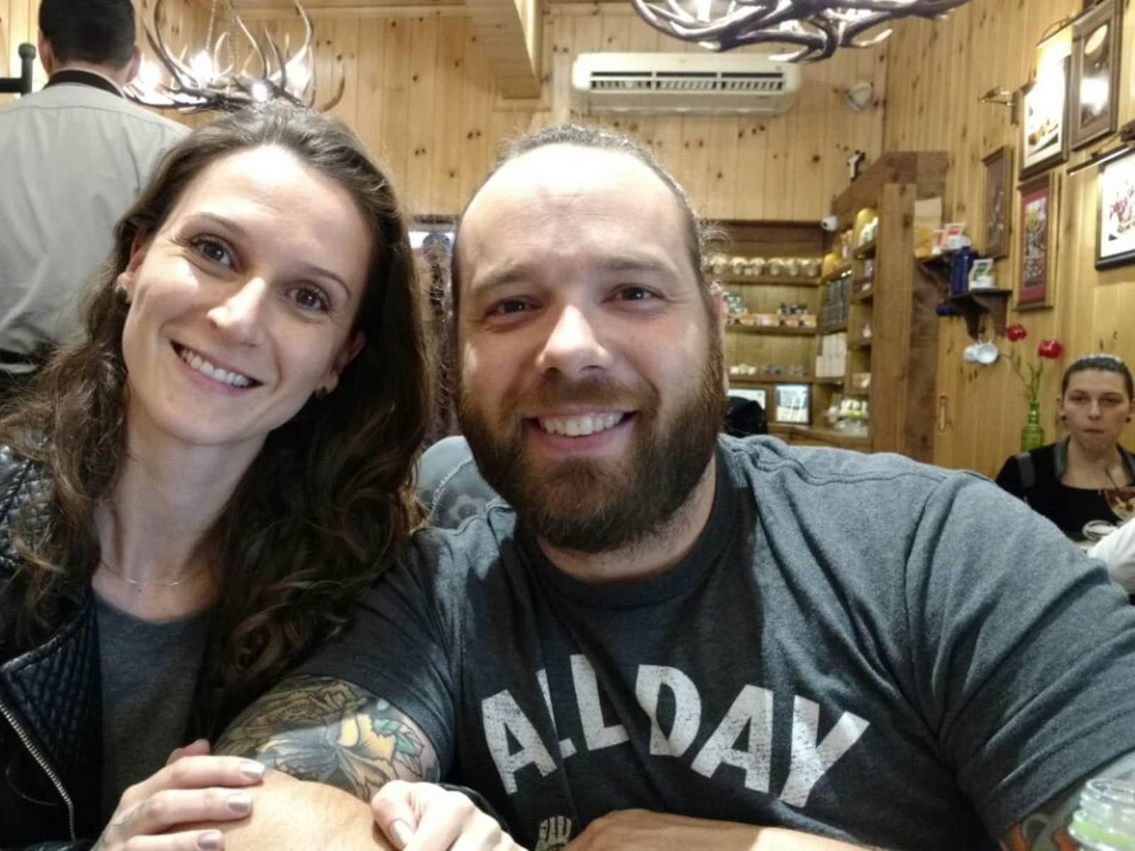 Christiane & Christian from Nova Petrópolis, Brazil