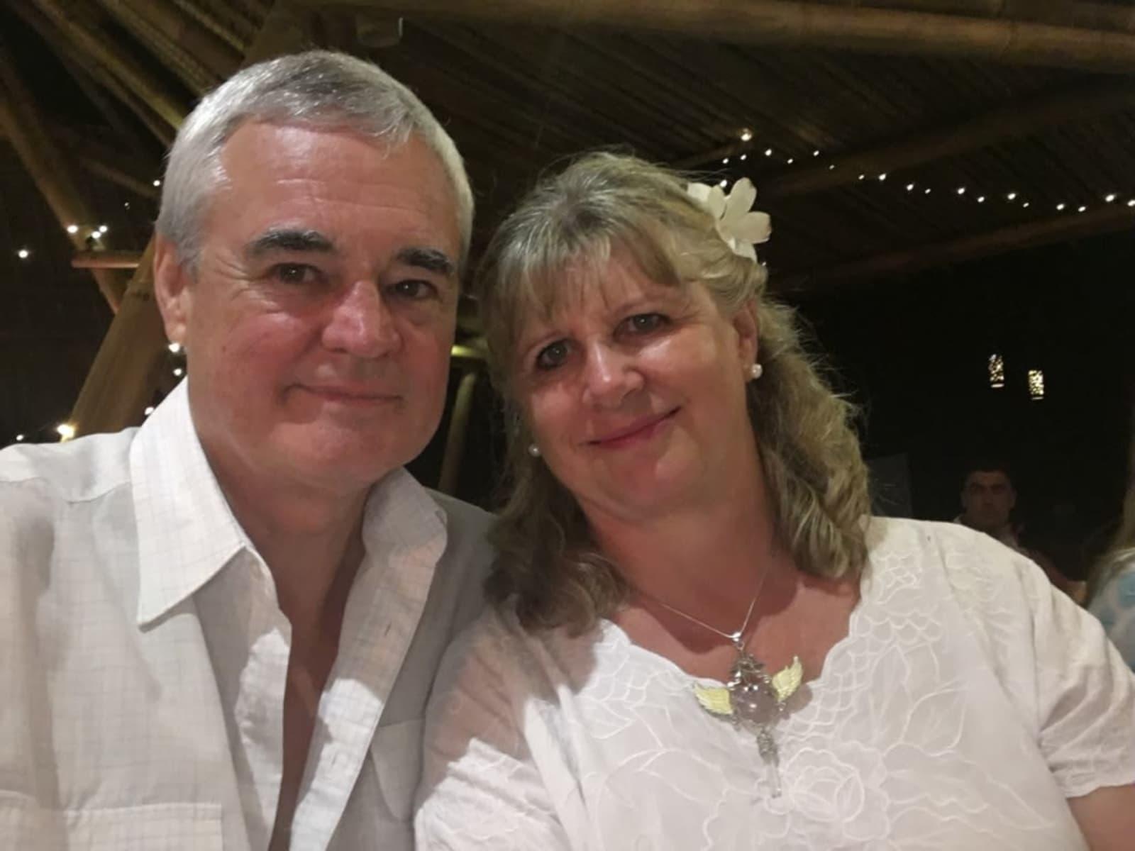 Steve & Gillian from Canberra, Australian Capital Territory, Australia