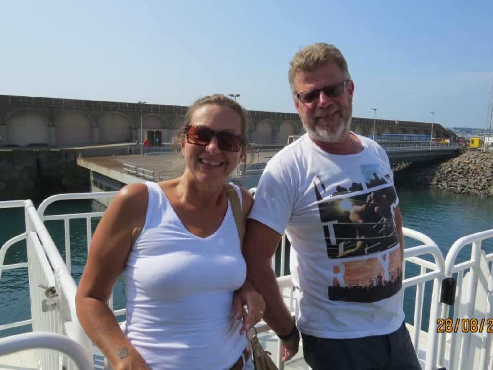 Shirena & Keith from Fremantle, Western Australia, Australia