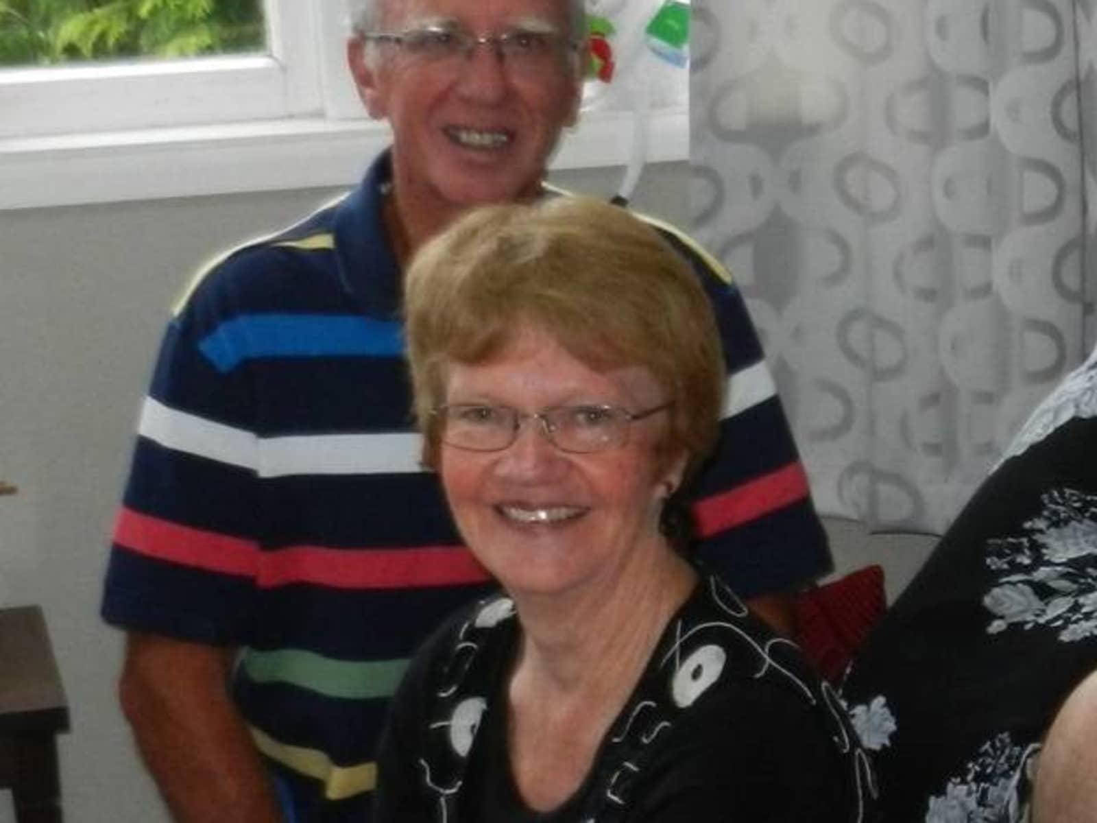 John & Valerie from Rotorua, New Zealand