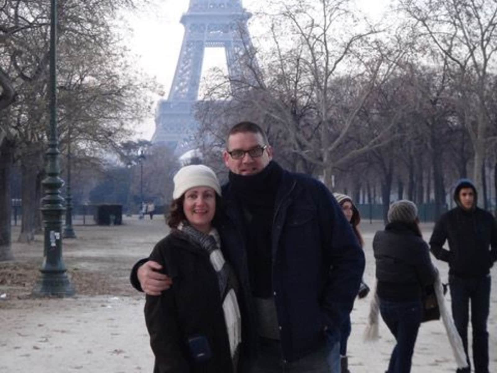 Gerard & Donna from Lydney, United Kingdom