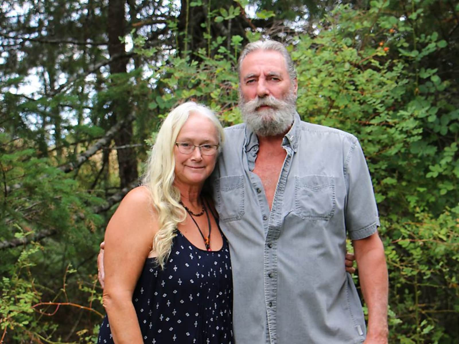 Olwen & Brian from Parksville, British Columbia, Canada