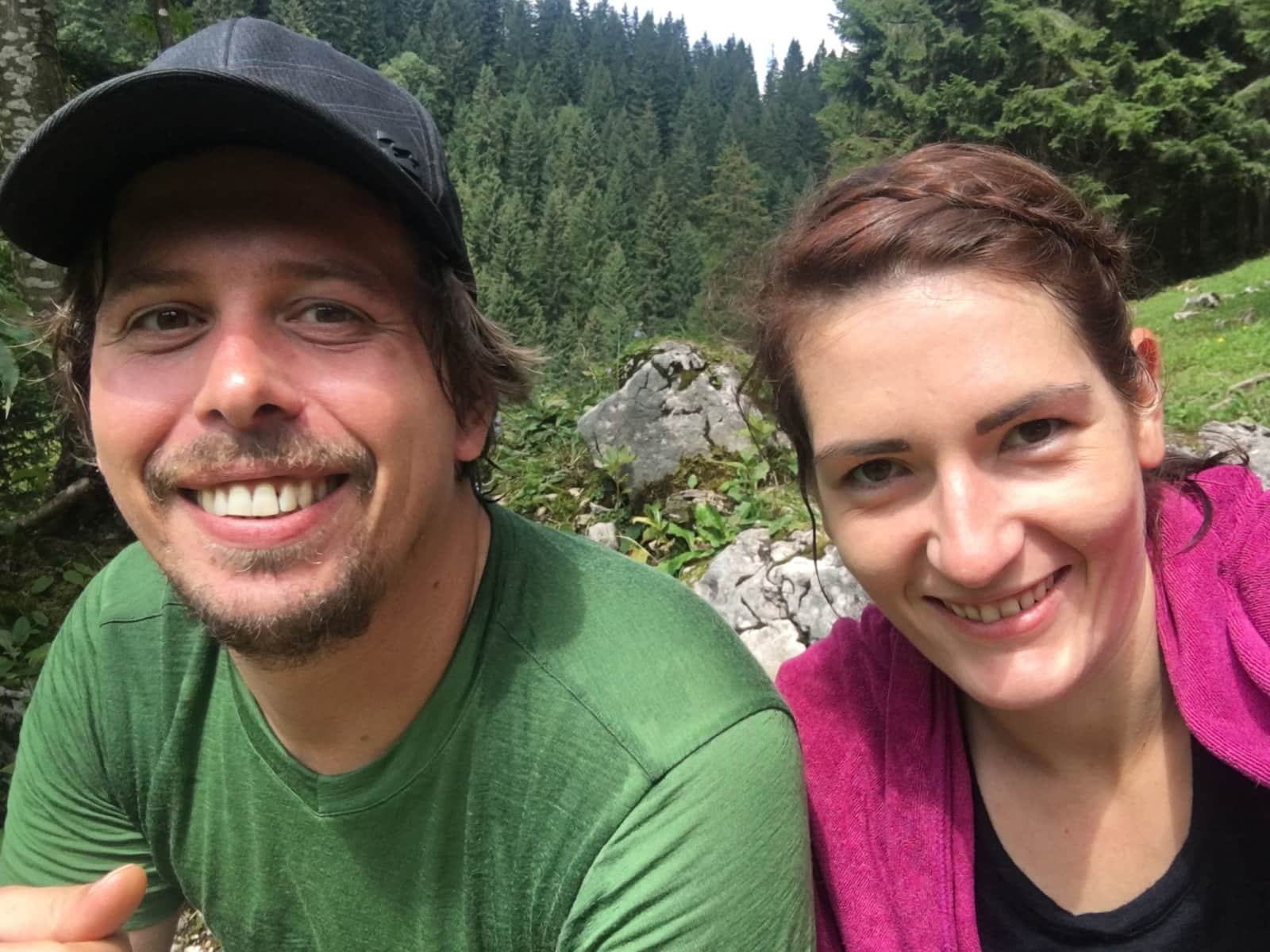 Steffi & Benno from Munich, Germany