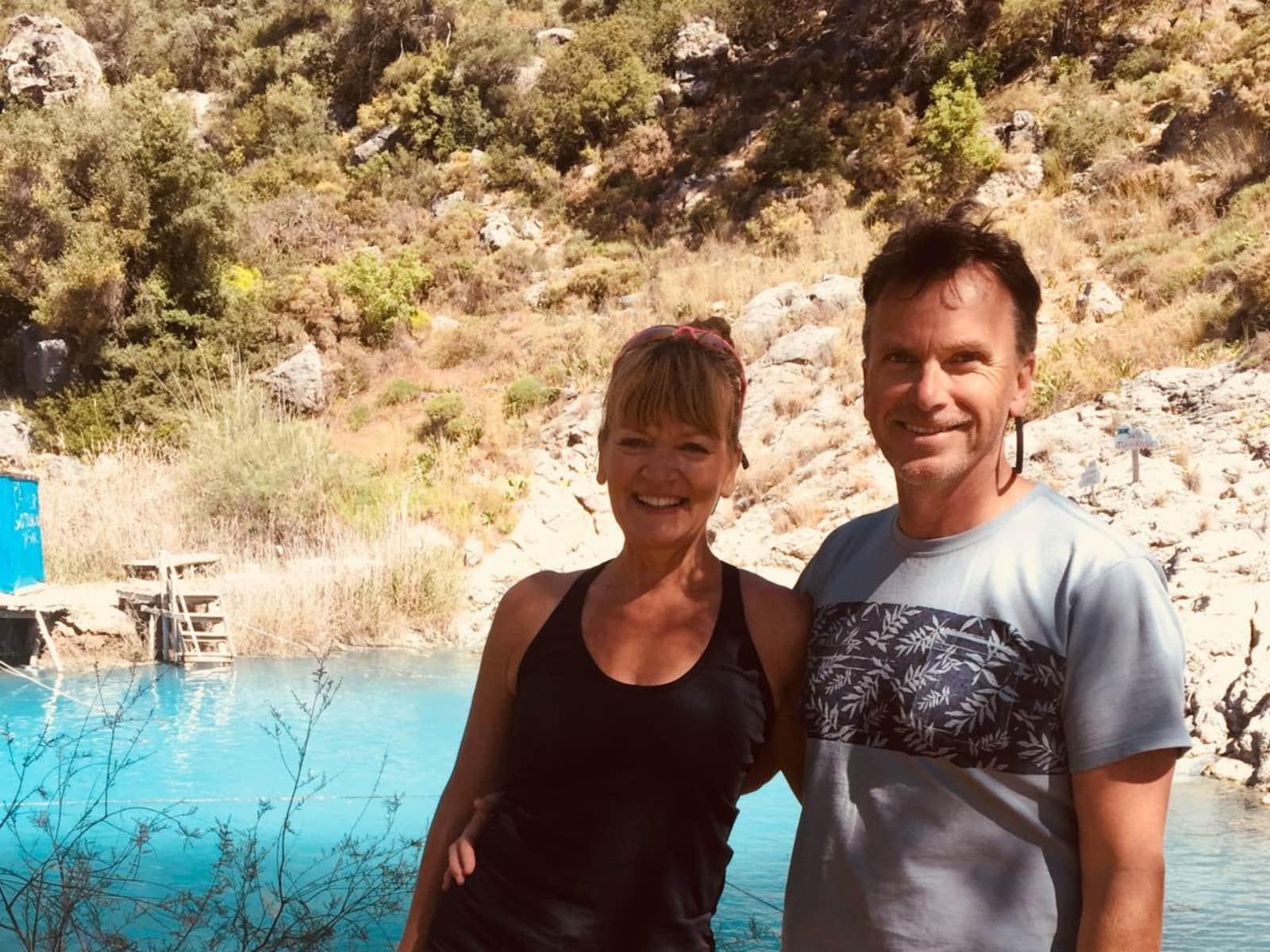 Jane & Peter from Wimborne Minster, United Kingdom