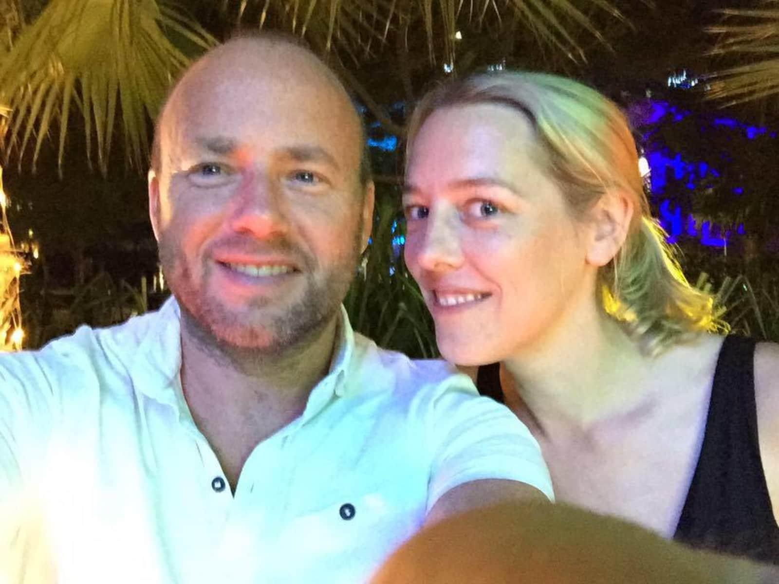 David & Hannah from Runcorn, United Kingdom