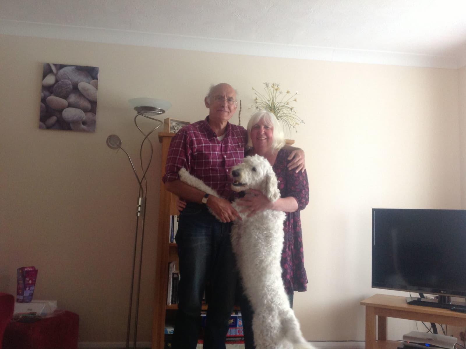 Sandra & Richard from Paisley, United Kingdom