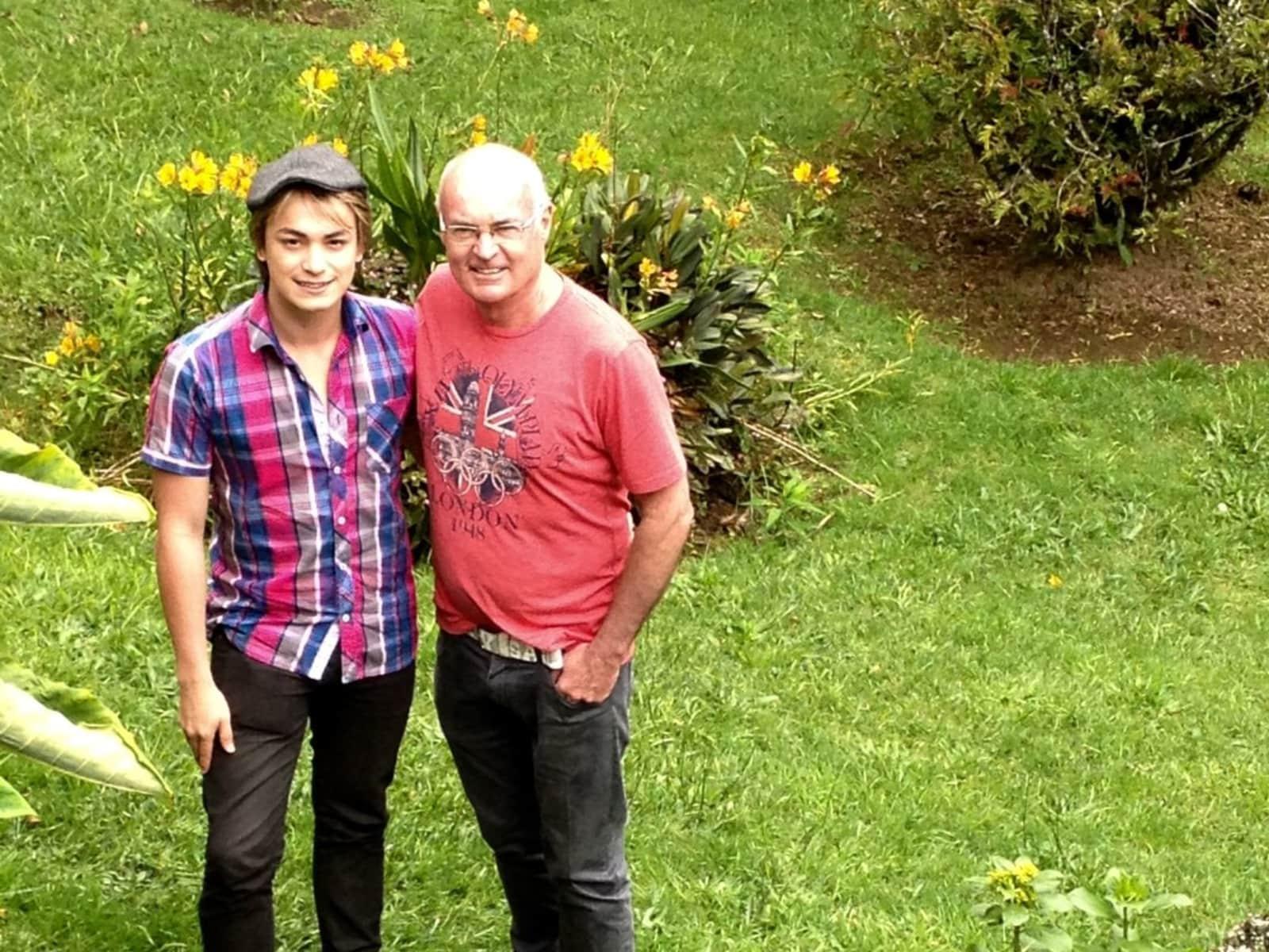 Patrick & Andres from Mexico City, Mexico