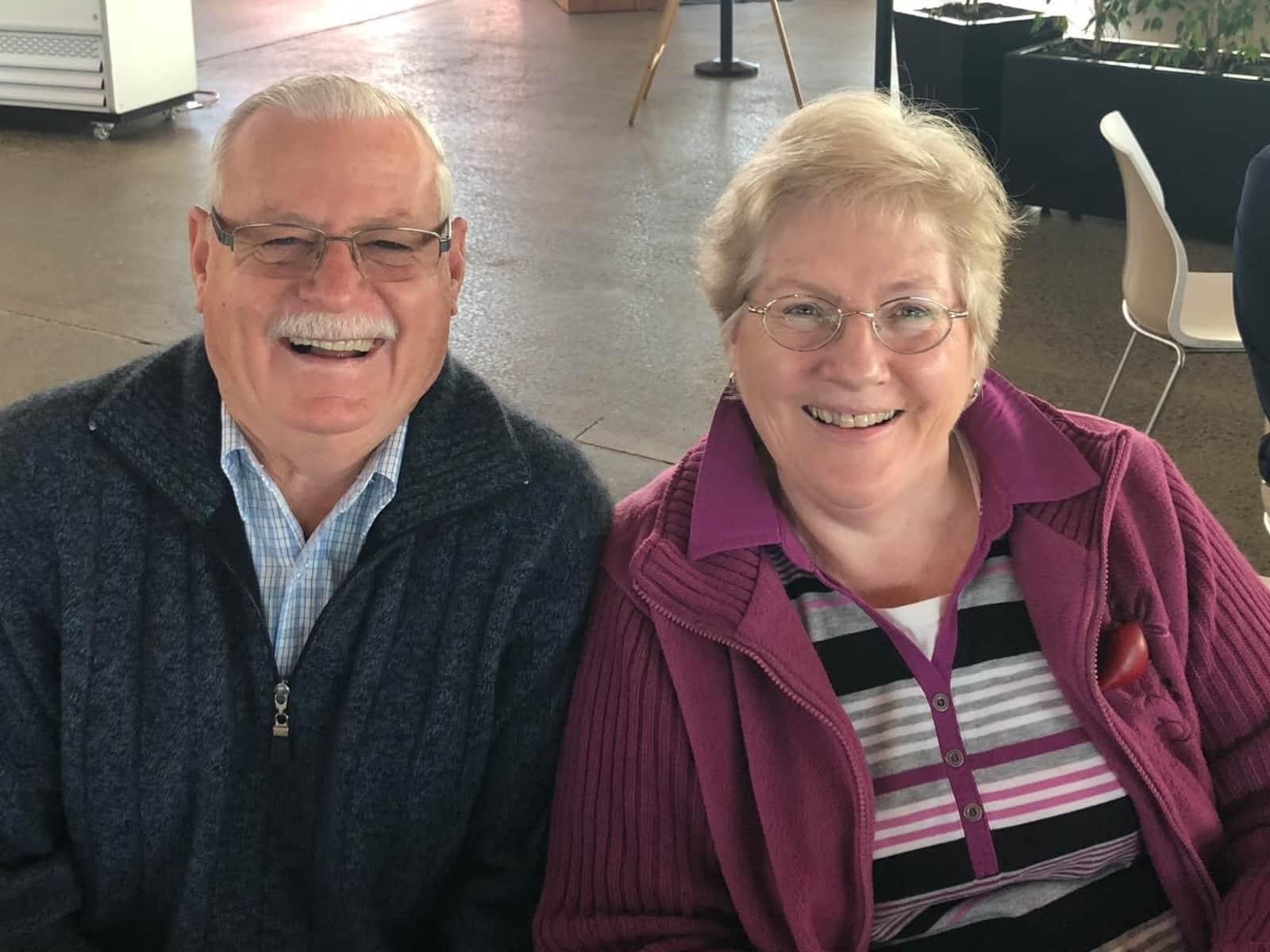 Nola & Geoff from Canberra, Australian Capital Territory, Australia