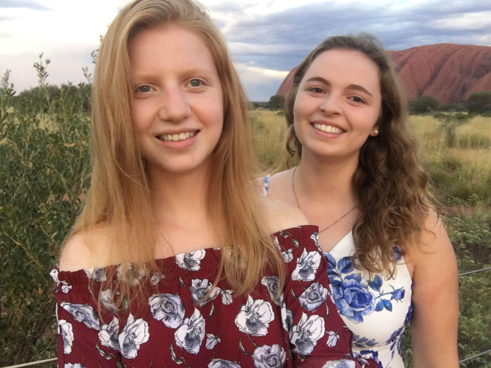 Elena & Maria from Nürnberg, Germany