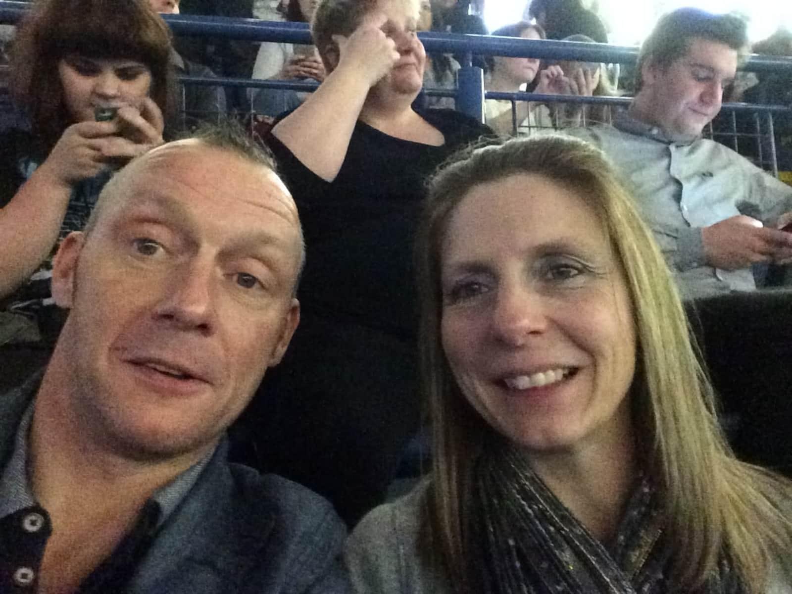 Deborah & Gary from Nottingham, United Kingdom