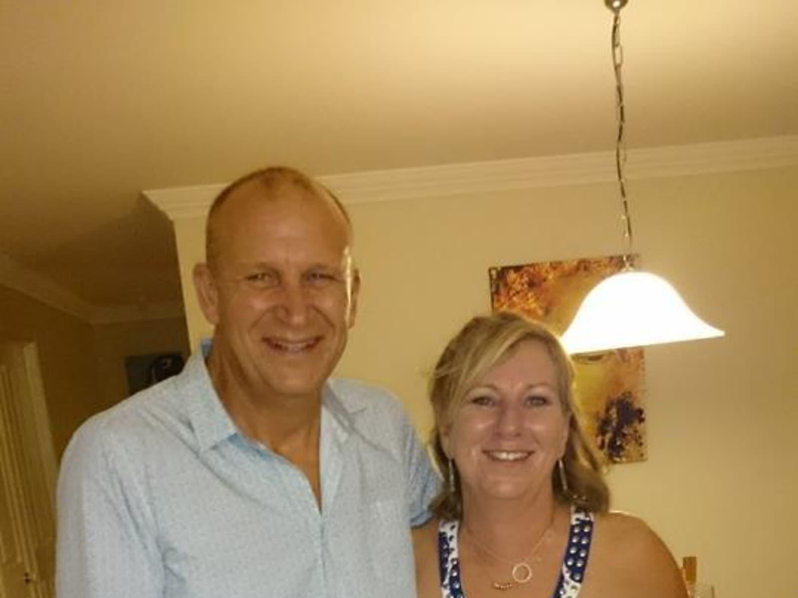 Tracy & David from Brisbane, Queensland, Australia